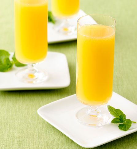Peachy Mimosas | Drinks | Pinterest