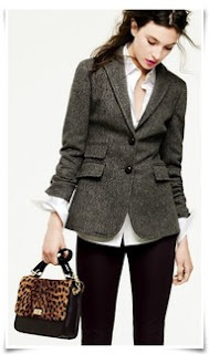 I'd appreciate this tweed jacket in my closet.
