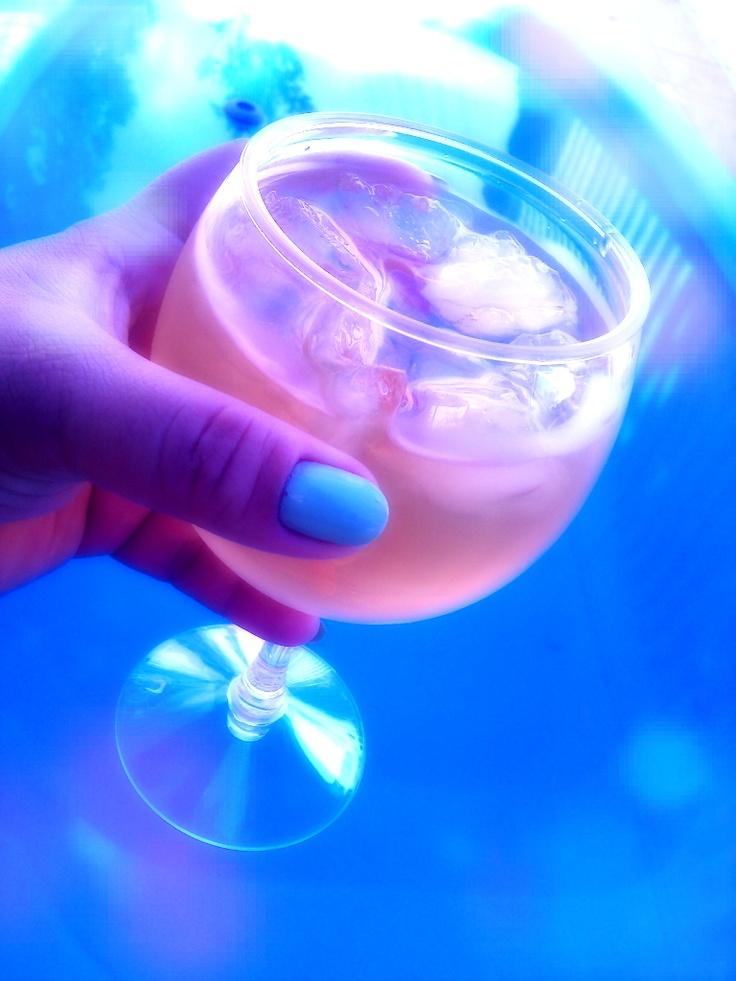 #summer #drink #blue