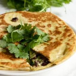 Black Bean Goat Cheese Quesadillas with Guacamole on BigOven ...