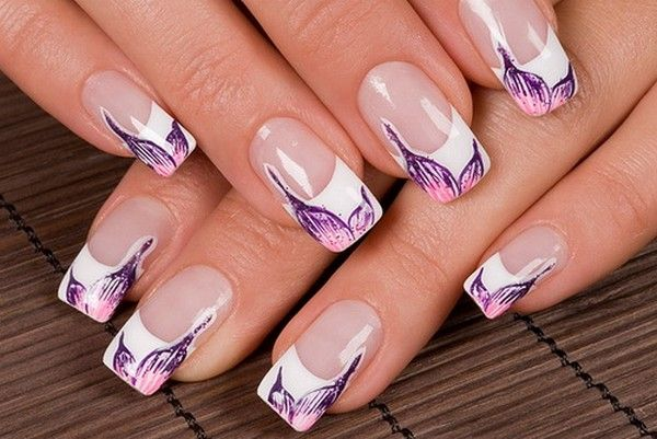 Wonderful Using Water Nail Art. | Nail Art | Pinterest