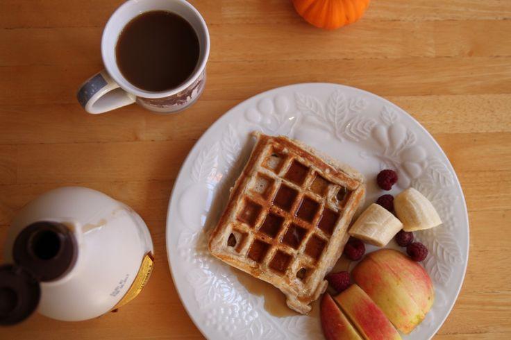 Multigrain buttermilk waffles | I love breakfast | Pinterest