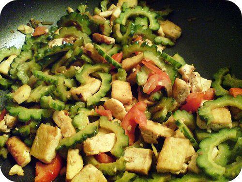 Sauteed Tofu With Bitter Greens Recipe — Dishmaps
