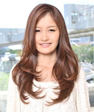 Long soft waves at Hair-do HK | Hair | Pinterest