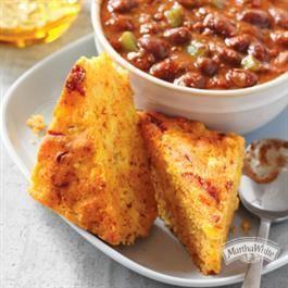 Chili Cheese Cornbread | Recipe