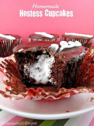 Homemade Hostess Cupcakes | Delectable Sweets, cakes and desserts | P ...