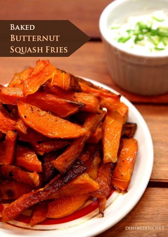 Baked Butternut Squash Fries | Paleo Recipes | Pinterest