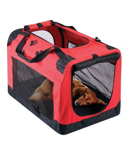 Portable pet travel crate fur babies pinterest for Portable travel dog crate