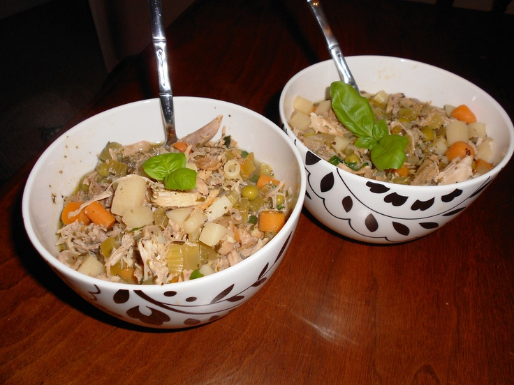Leftover turkey noodle soup!! | Yummy Food!! | Pinterest