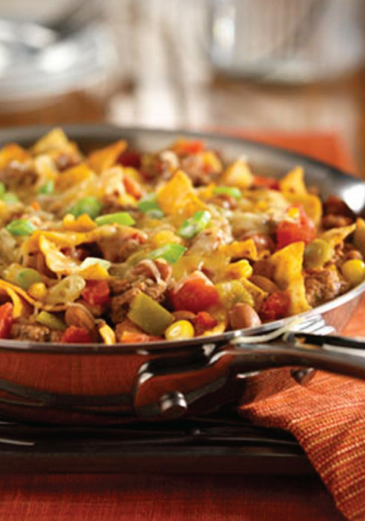 ... of a taco in a skillet – try this Beef Taco Skillet dinner recipe