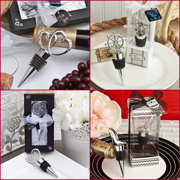 New Wedding Wine Bottle Stopper