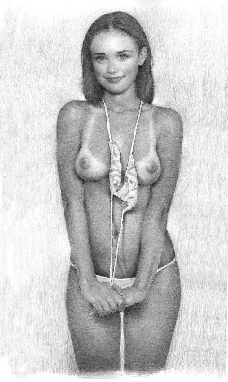 Erotic pencil drawings