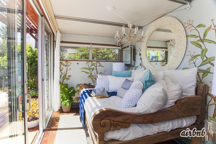 Anjelica Huston's AirBnB pop-up space #HelloLA