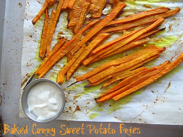 Meet Me in the Kitchen: Baked Curry Sweet Potato Fries