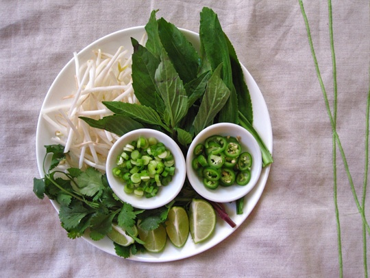 Vegetarian Pho Recipe- just tried it, it's amazing and easy to do.