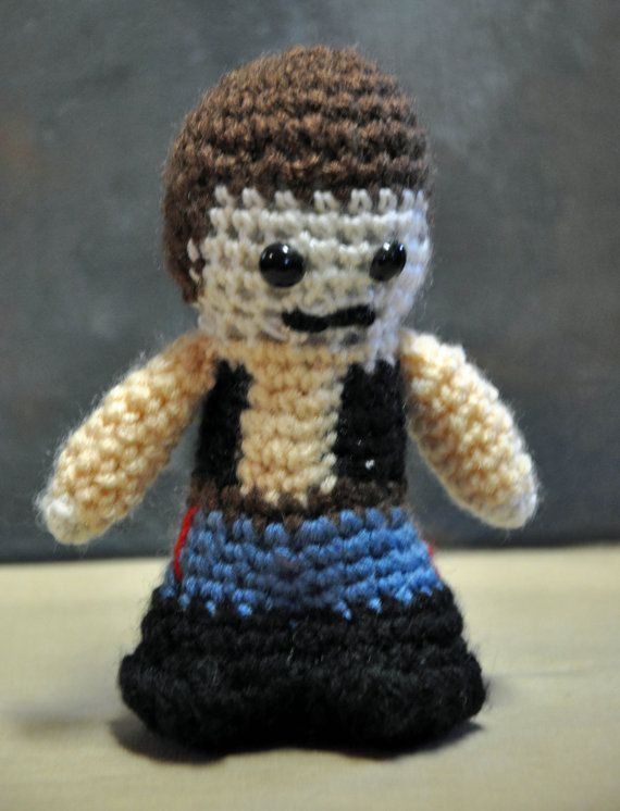 HAN SOLO AMIGURUMI Crochet Yarn Star Wars Doll