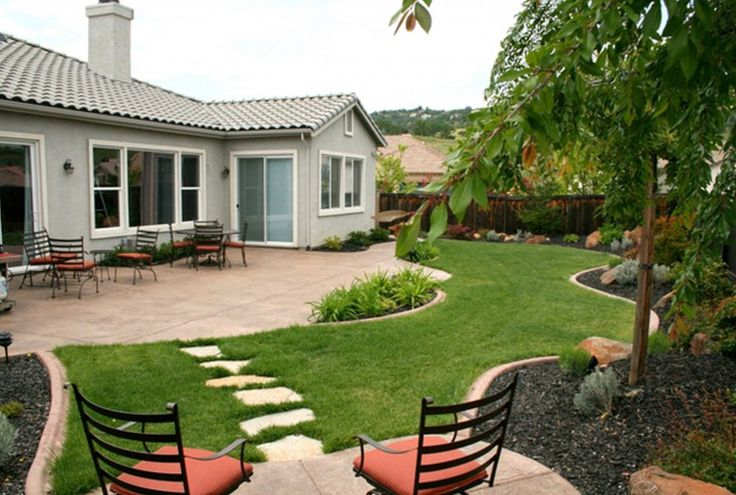 Pin by decornation on landscaping garden design pinterest for Cheap low maintenance garden