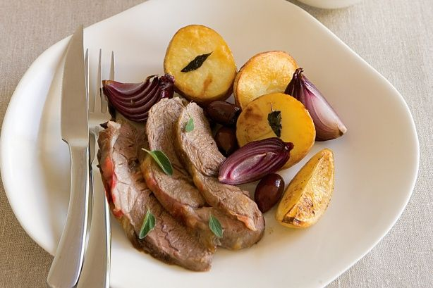 Slow-roasted Greek lamb | Recipes | Pinterest