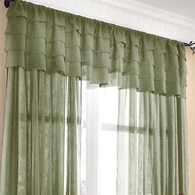 jcp home sensations semi sheer window treatments jcpenney