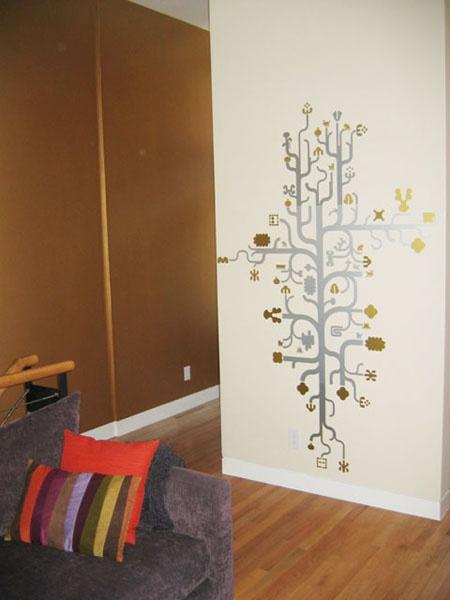 Wall Paint Treatment Design Pinterest