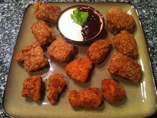 Almond-Parmesan Crusted Chicken Nuggets February 16, 2012 By Peace ...