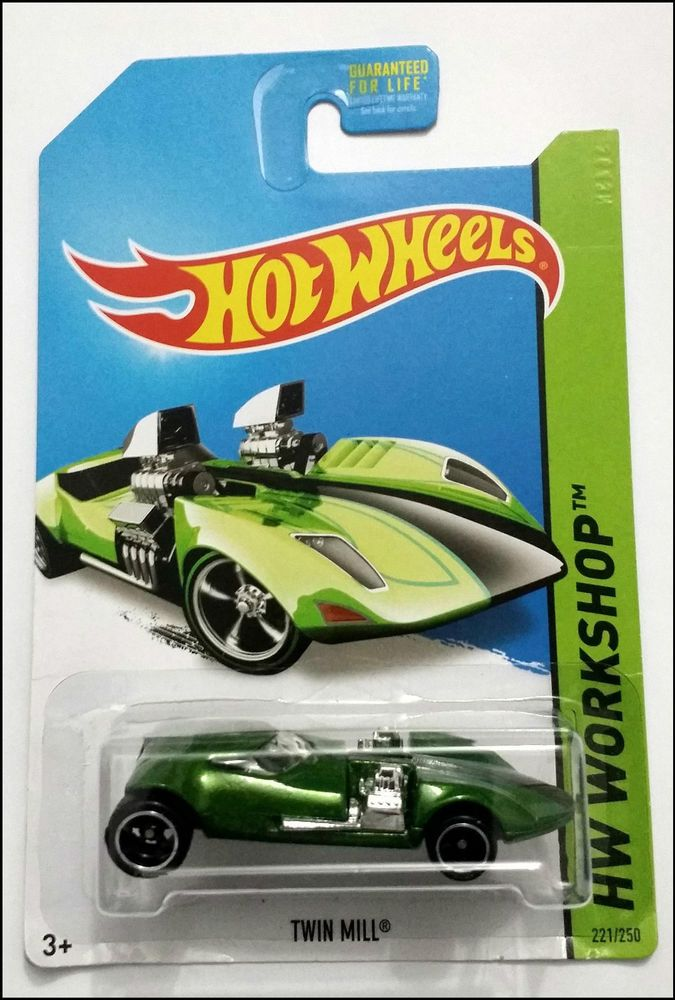 hot wheels 2014 super treasure hunt twin mill us carded very rare - Rare Hot Wheels Cars List