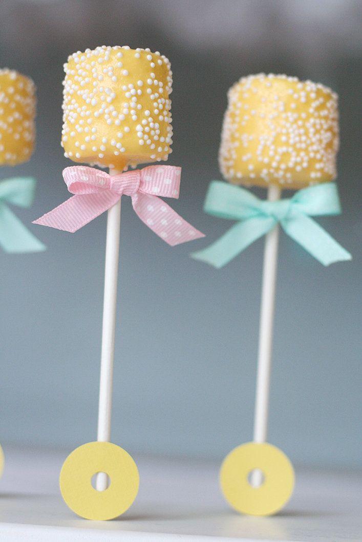 Marshmallow rattles