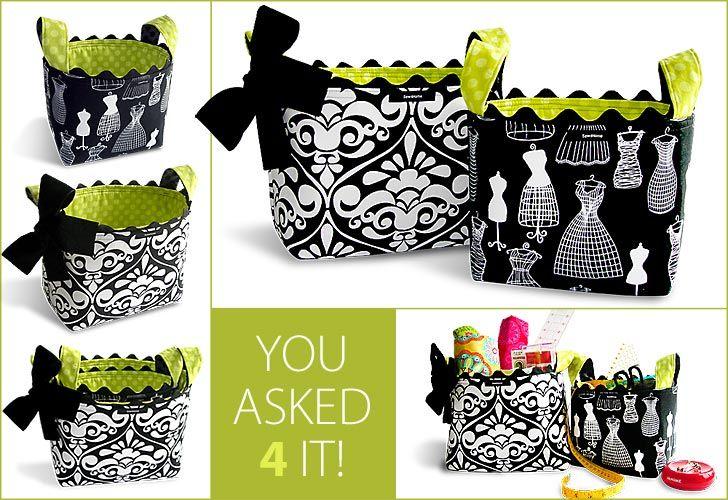 Fabric baskets