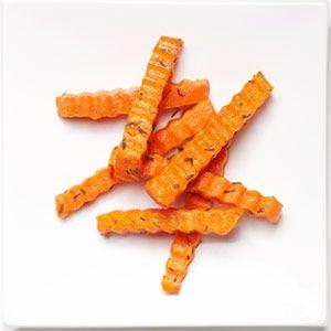 20 Kid-Friendly Veggies: Crinkly Carrot Fries (via Parents.com)