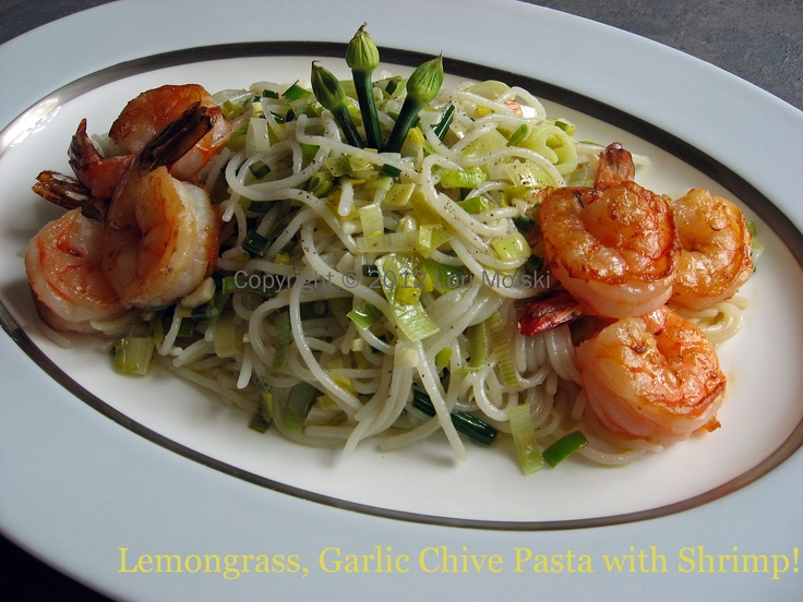 Lemongrass Shrimp Pasta copy | yummmmm | Pinterest