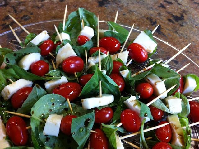 Caprese Salad Skewers | Nailed It! | Pinterest