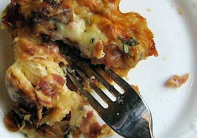 "Ham and Cheese"" Breakfast Casserole 
