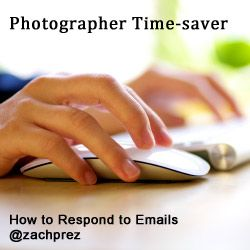 Clever ways to cut down on email requests, plus how to respond professionally through your website.