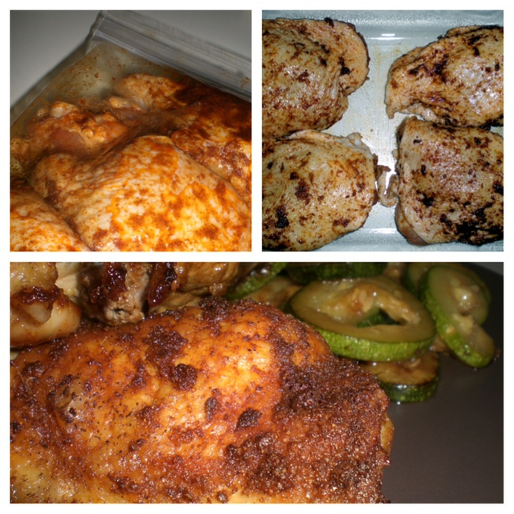 Smoked Paprika Chicken Thighs | Food ~ Drinks ~ Desserts! | Pinterest