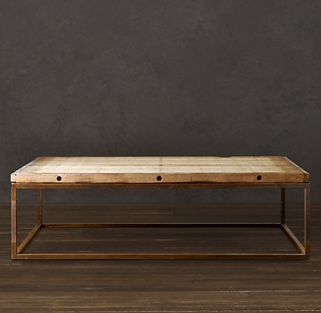 Brickmaker 39 S Coffee Table Home And Hearth Pinterest