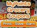 Mypoints.com/ You can earn points for clicking emails and for using grocery coupons.