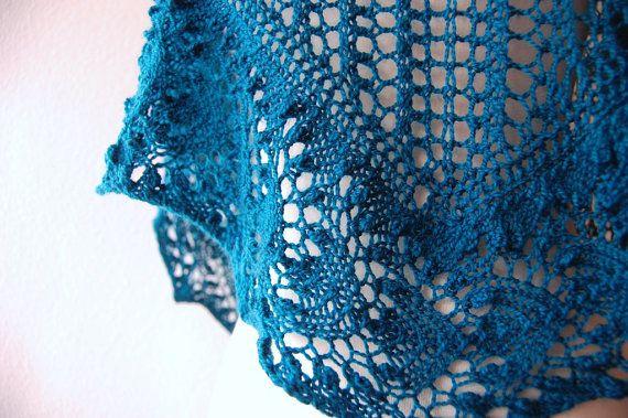 One Skein Knit Patterns : Knitting Pattern PDF / Nebulous One Skein Shawl