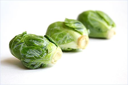 Stir-fried Brussels Sprout Recipe with Dried Sole no dried sole? try ...