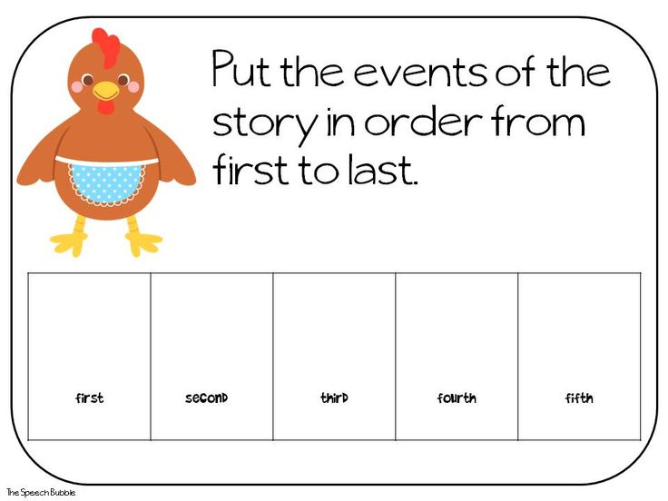 The Little Red Hen: Book Companion — The Speech Bubble