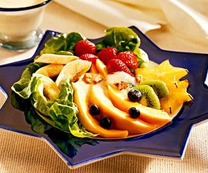 yogurt salad yogurt gelatin ribbon salad fall fruit and yogurt salad ...