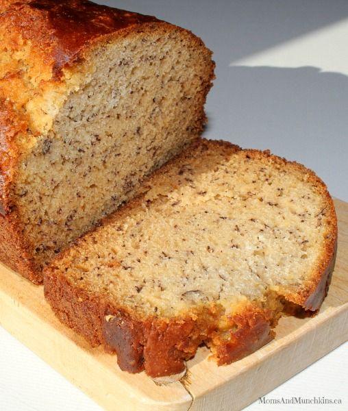 Easy Banana Bread Recipe #BananaBread