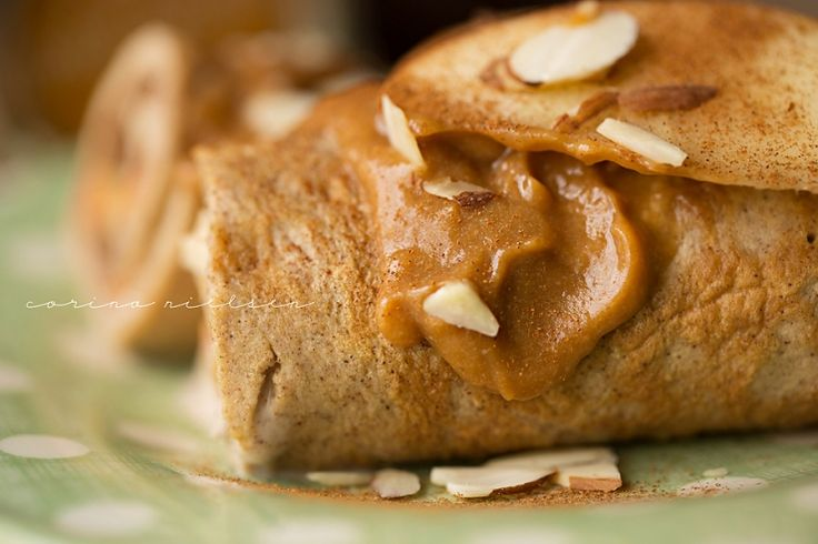 & Flexible Dieting (IIFYM): Cinnamon Caramel Apple Pancake Roll Ups ...