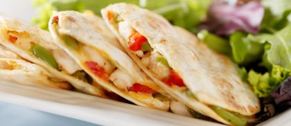 Quesadillas | Sin in food shape | Pinterest