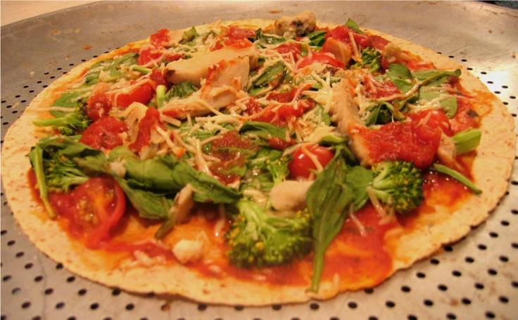 hummus pizza | Food/Recipes | Pinterest