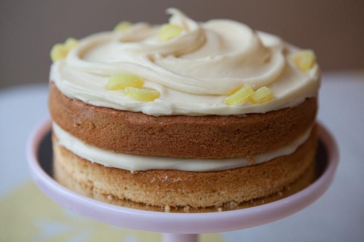 Lemon layer cake. | Cake_undressed | Pinterest