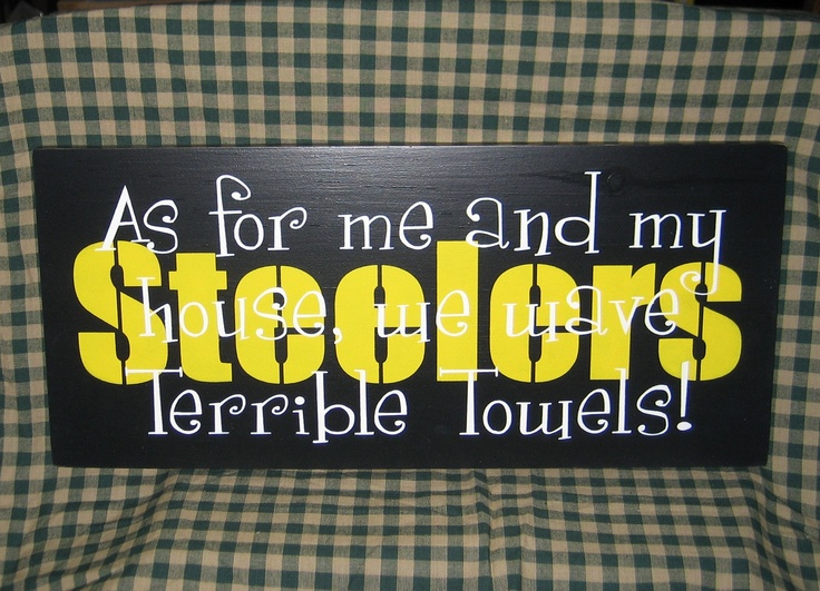 Steelers Man Cave Signs : Steelers football sign man cave dad sports pittsburgh