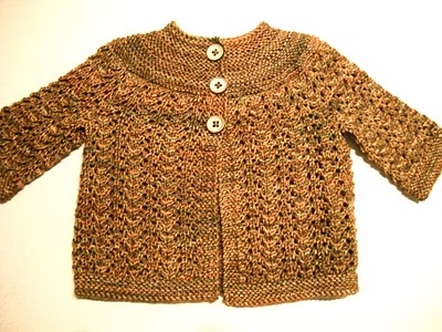 Ravelry: Baby Sweater On Two Needles (february) Pattern By