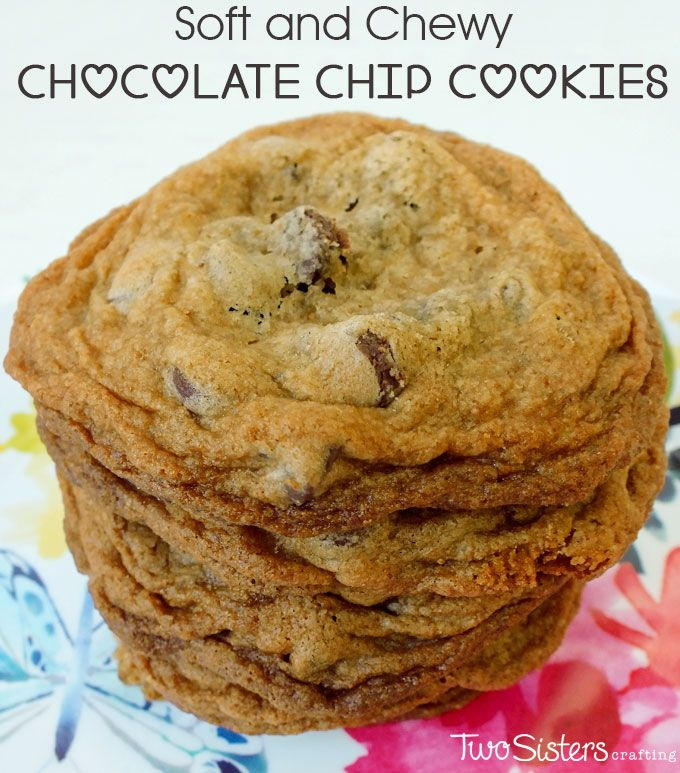 how to make cookies soft and chewy