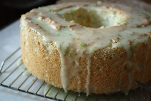 Lime angel food cake....yum | Recipe Ideas | Pinterest