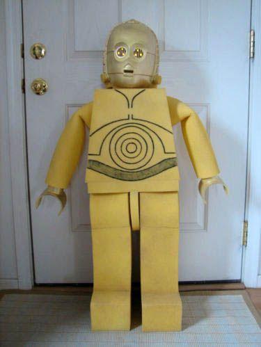 DIY Lego C-3PO Costume... diy? if so, for e